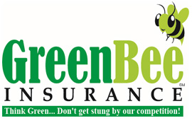 Green Bee Insurance Logo